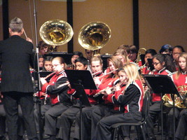 RJHS Hosts Band Region Tryouts
