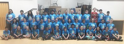 RMS Students Participate in Russvegas 5k Glow Run