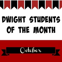 October Student of the Month Nominees