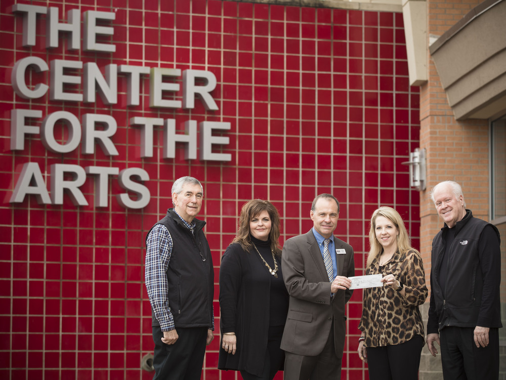 Center for the Arts Foundation Receives Large Donation