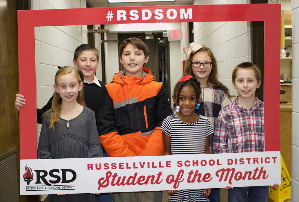RSD November Students of the Month