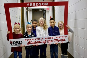 RSD January Students of the Month