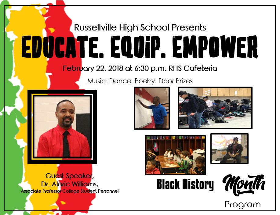 RHS to Host Black History Month Program