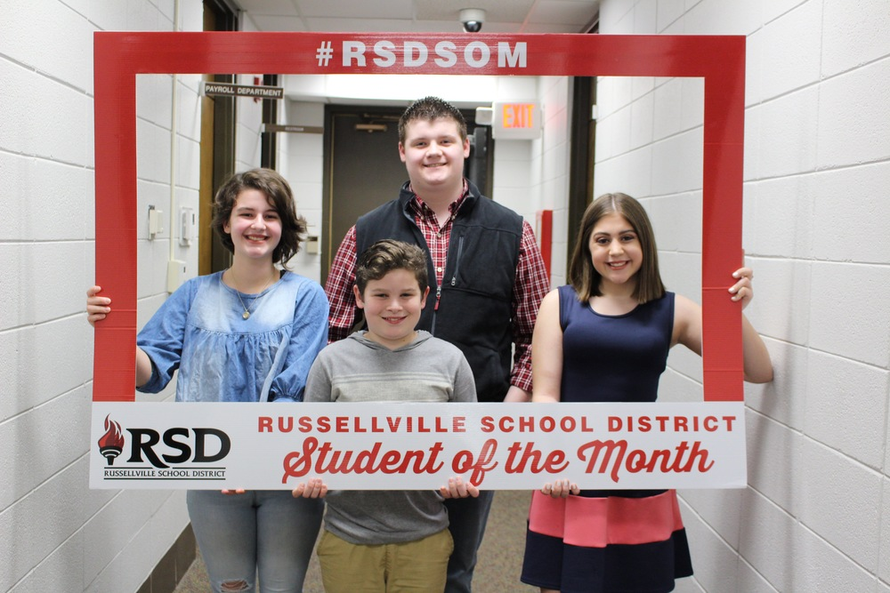 RSD February Students of the Month