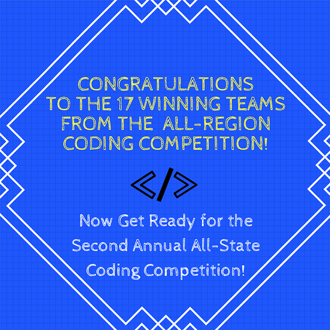 RHS Winner of Second Annual All-Region Coding Competition