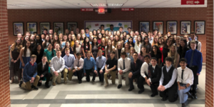 2018 National Junior Honor Society Induction Service