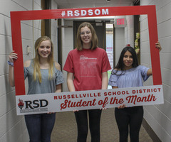 RSD April Students of the Month