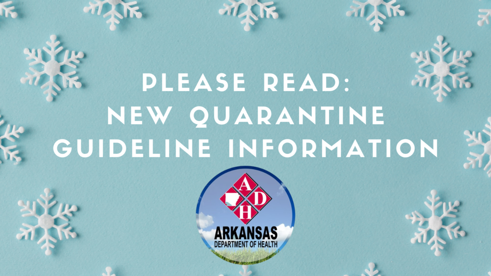 Please read quarantine info.