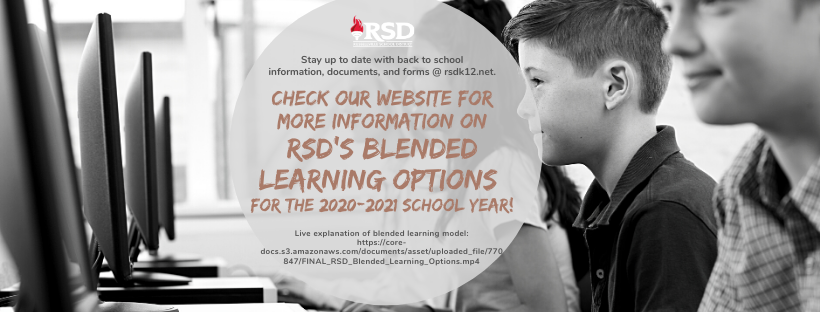 blended learning model voice message for RSD families