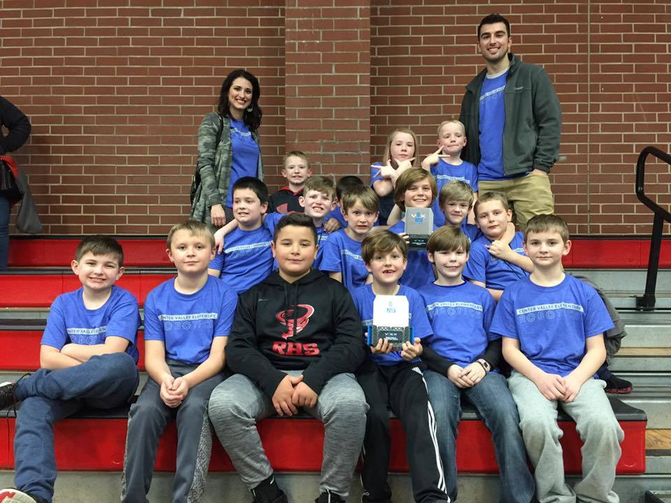 CVE Robotics Team Places First