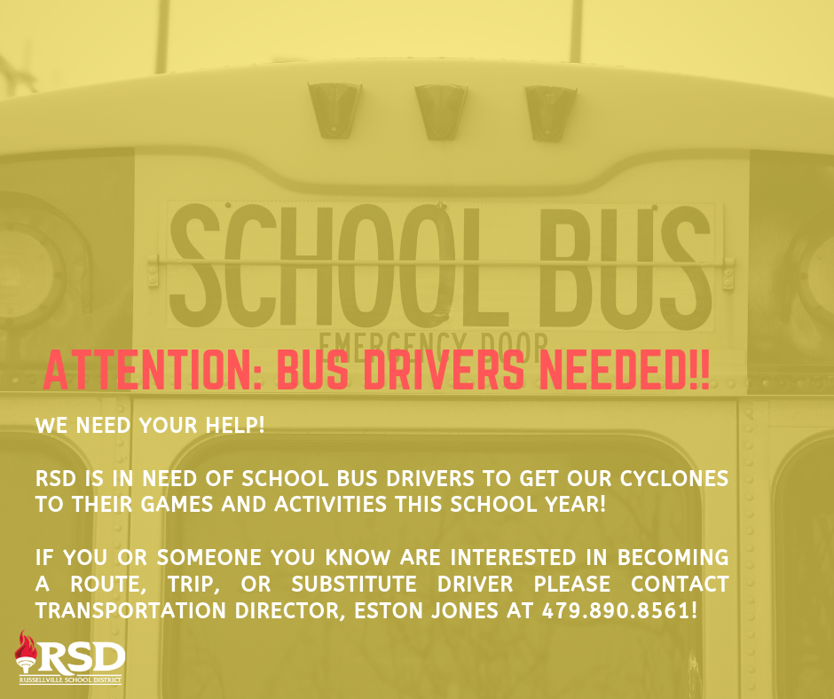 Attention: School Bus Drivers Needed!