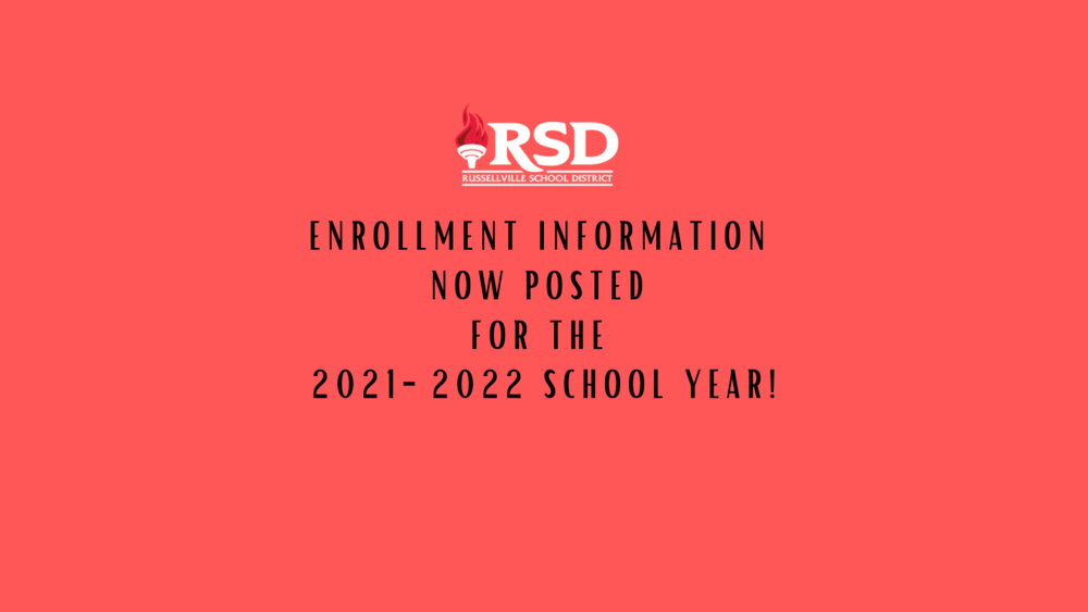 Enrollment page for new and returning students posted
