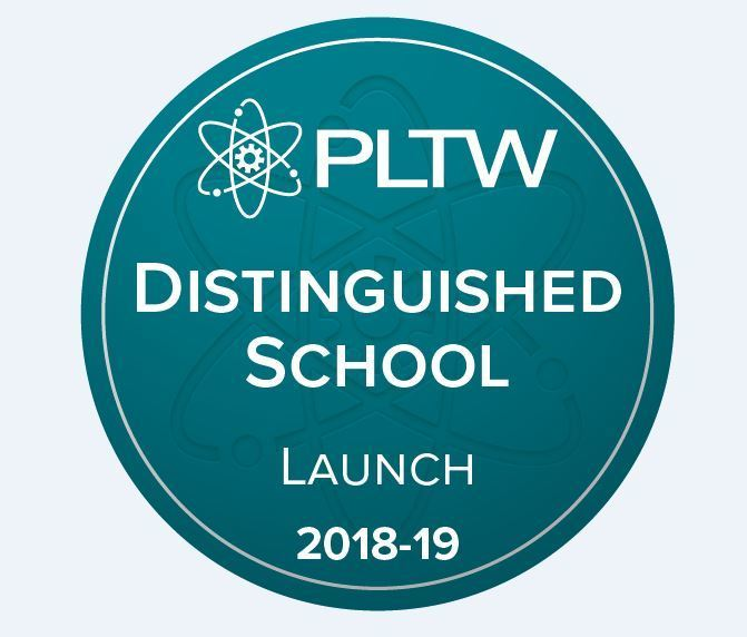 Sequoyah Receives National PLTW Distinguished School Recognition