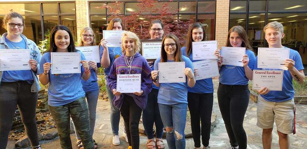 RHS' Muse Literary Magazine ranked the best in the state, 2019.