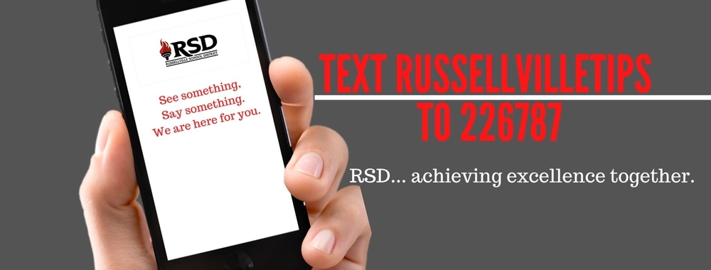 See something, say something, TEXT us at 226787!!