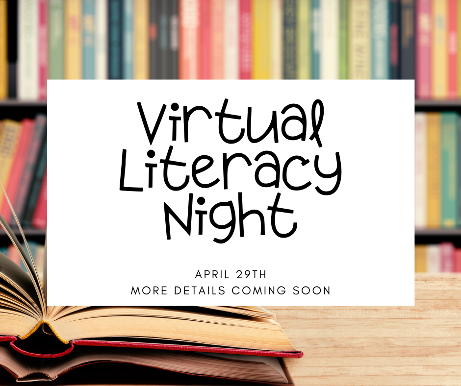 Save the Date for Crawford's Virtual Literacy Night!