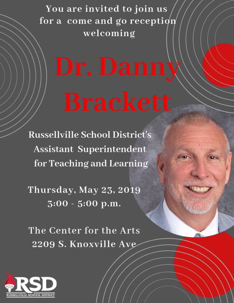 Welcome reception for Dr. Danny Brackett