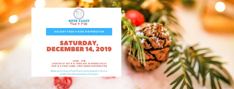 River Valley Food 4 Kids Holiday Food Distribution