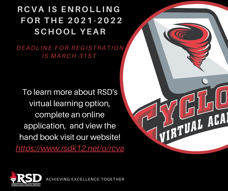 RCVA enrolling through March 31!