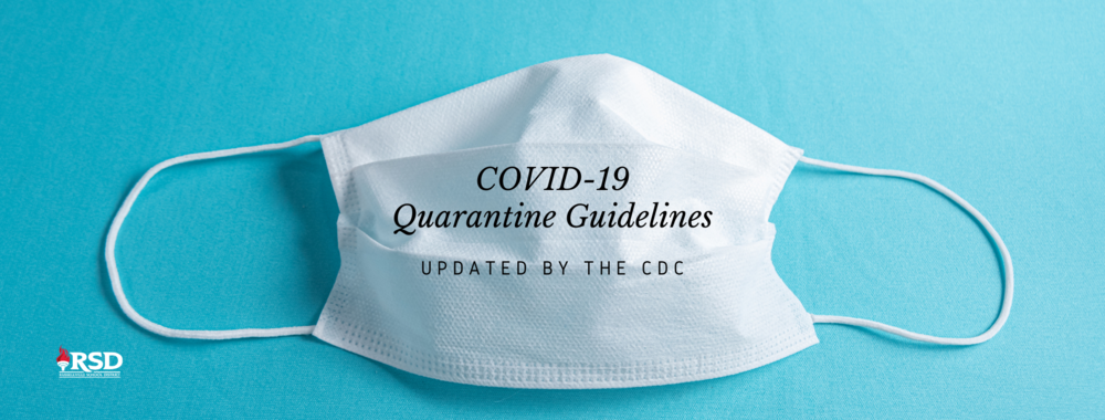 The CDC has updated quarantine guidelines: effective immediately