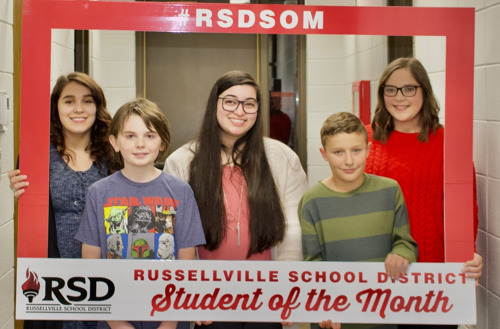 RSD December Students of the Month
