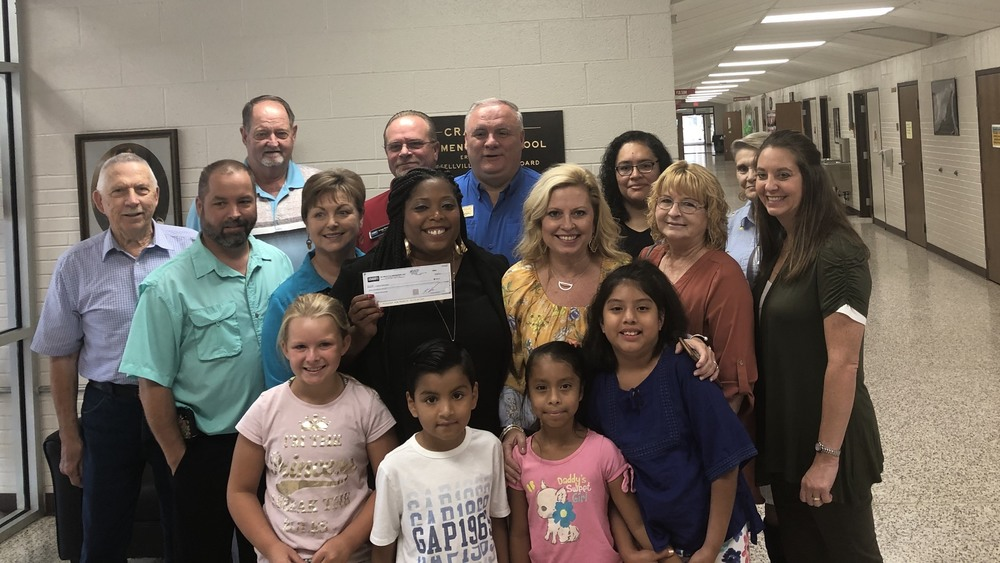 Crawford Elementary gets generous donation from Coldwell Bank Real Estate