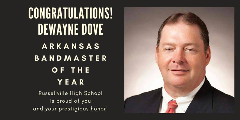 Dove named Bandmaster of the year!