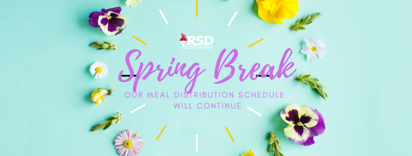 No changes for Spring Break in Meal Distribution