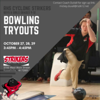 Cyclone Bowling Tryouts