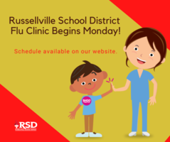 Flu Clinic scheduled for  October 26- 30