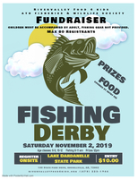 River Valley Food 4 Kids Fishing Derby scheduled 11.2.19
