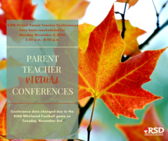 RJHS conferences re-scheduled for 11.02.20,