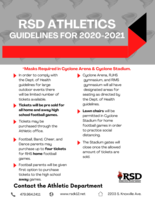 2020-2021 RSD Athletic Guidelines