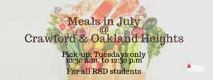 Meal distribution to continue through July