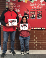 RJHS December 2019 Employee and Student of the Month!