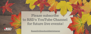 Subscribe to RSD's YouTube Channel!