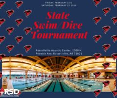 RHS competes for State Swim & Dive