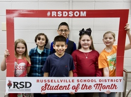 Congratulations to our February Students of the Month!