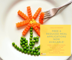 The Office of Child Nutrition is now taking Free & Reduced Meal Applications!