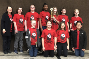 RMS Gales Quiz Bowl Team wins third place