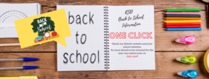 One click for back to school information