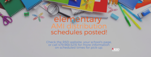elementary AMI packet distribution schedule