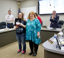 Student receives State Diamond Award