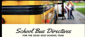 School Bus directives for RSD students