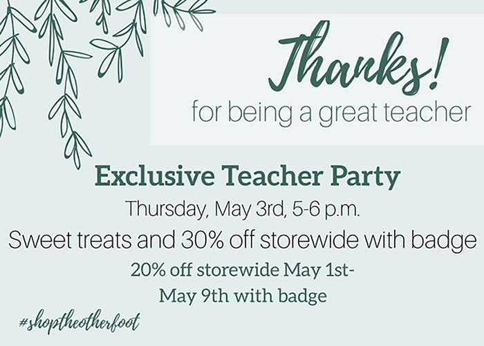 Exclusive Teacher Party