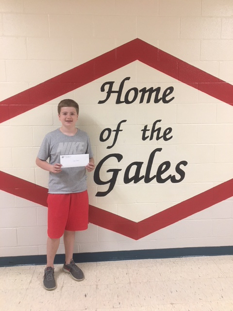 Jack Gordon - RMS May Student of the Month