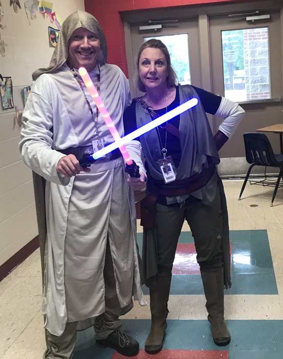 May the 4th be with you at RMS.