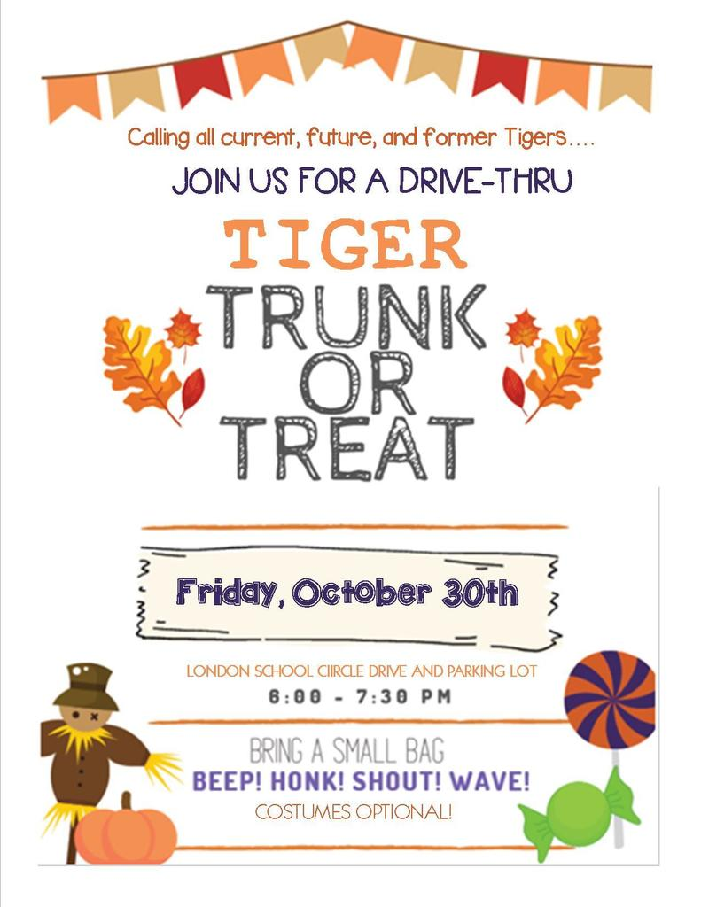 Tiger Trunk or Treat