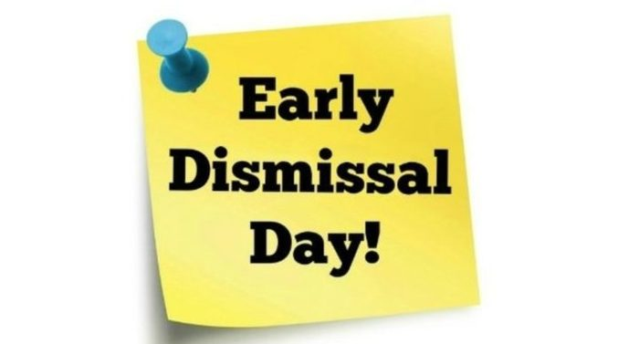 early dismissal poster