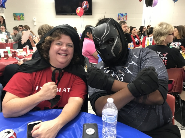 RMS Super Hero Teachers.